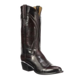 LUCCHESE Classics Gavin boot in Black Cherry